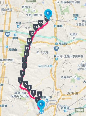 2016生駒縦走1