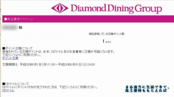 ダイヤモンドダイニング 優待サイト01 201602