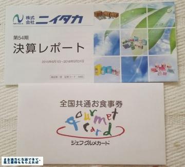 ニイタカ ジェフグルメカード 201605