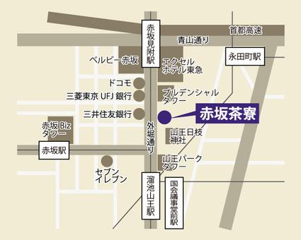 北大路赤坂茶寮地図8