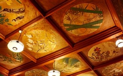 草丘の間天井