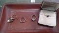 象牙天球図、アクセサリー、置物、小物、14KWG指輪2点、PT850指輪2点、Pt900指輪3点 i2