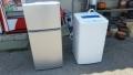 洗濯機(14年製)、冷蔵庫(14年製) です。引取ました!