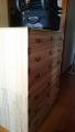折り畳みベッド、桐タンス、イス、tvボード、小物や食器、額など3