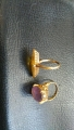 k18ネックレス、指輪、K14WG 指輪、アクセサリー i