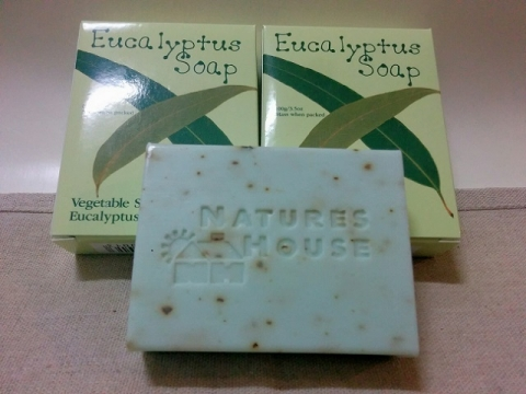 オーストラリア製ネイチャーズハウスのユーカリ石鹸2