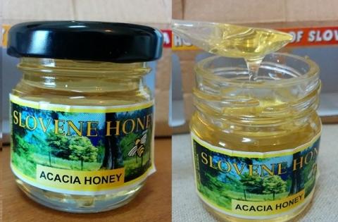 スロヴェニア産4種のハチミツ1