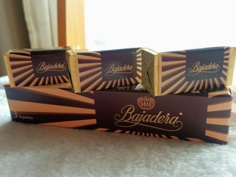 クロアチアのバヤデーラチョコ3個入り2