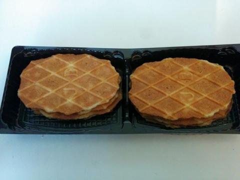 ベルギー製ワッフル型クッキー3