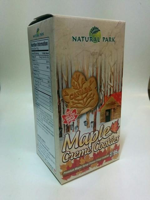 カナダ製ナチュラルパーク メープルリーフクリームBOX1
