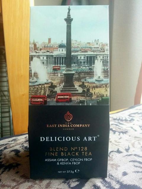 イギリス製東インド会社紅茶1