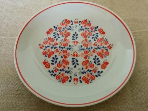 ハンガリーの有名陶器ホロハーザの飾り皿1