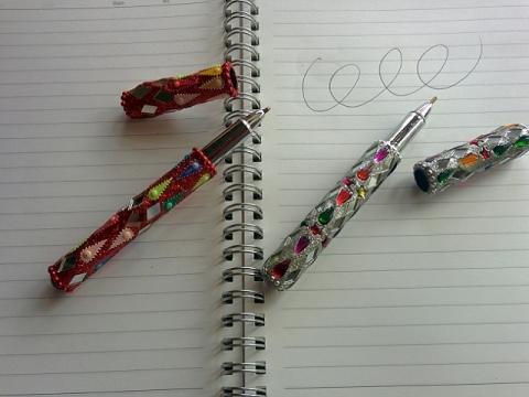 インド製ボールペン2