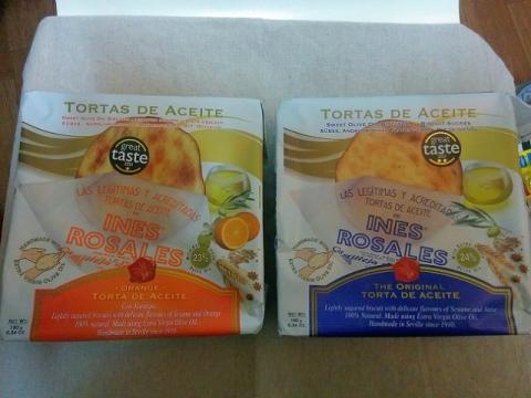 スペイン製 エキストラバージンオリーブオイルをたっぷり使った素朴な焼き菓子2