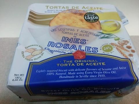 スペイン製 エキストラバージンオリーブオイルをたっぷり使った素朴な焼き菓子3