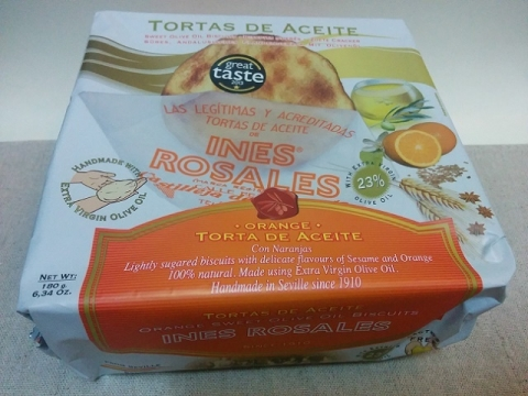 スペイン製 エキストラバージンオリーブオイルをたっぷり使った素朴な焼き菓子4