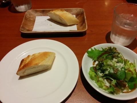 イタリアンレストランでランチ3