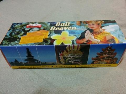 インドネシア製バリ島のレイヤーケーキ1