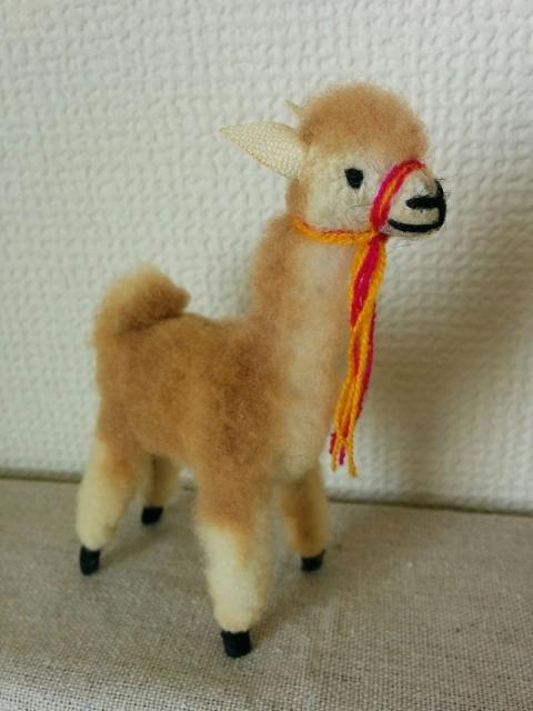 ペルー製アルパカマスコット2