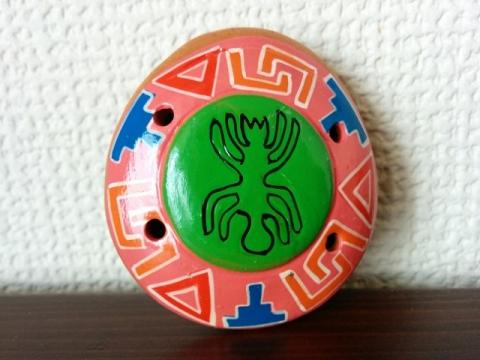 ペルー土産オカリナペンダント2