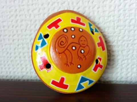 ペルー土産オカリナペンダント3