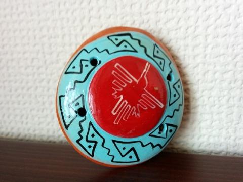 ペルー土産オカリナペンダント4