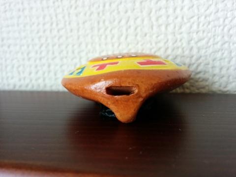 ペルー土産オカリナペンダント6