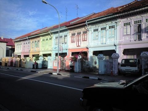 シンガポールショップハウス