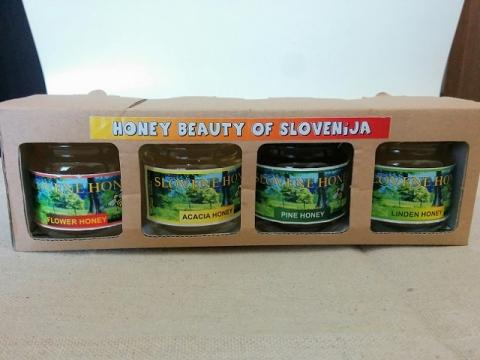 スロヴェニア産4種のハチミツ5