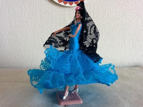 スペインフラメンコ人形4
