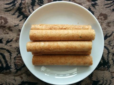 タイ製ワンヴィライロールクッキー4