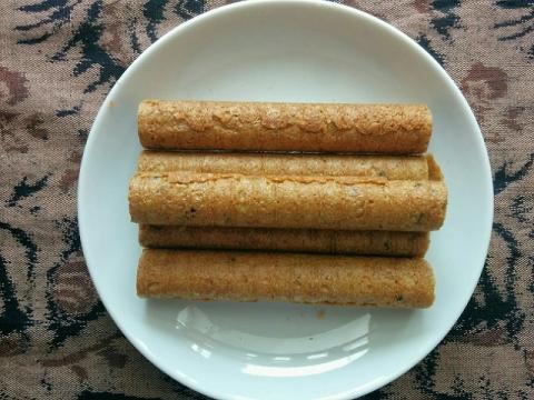 タイ製ワンヴィライロールクッキー5