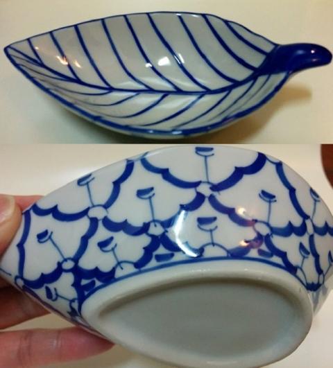 タイ製の青白陶器6