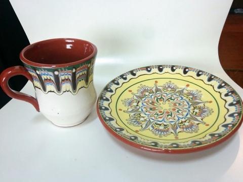ブルガリヤ陶器 トロヤン焼1