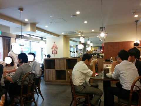 西安の刀削麺3