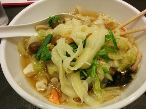 西安の刀削麺7