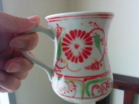 ベトナムのバッチャン焼きマグカップ1