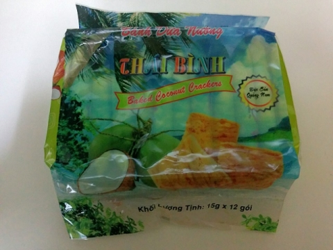 ベトナム製タイビン ココナッツクラッカー1