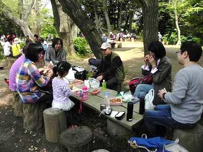 鎌倉葛原岡神社広場2