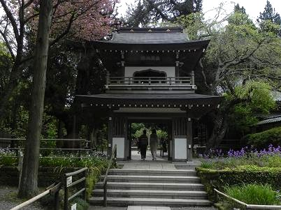 鎌倉浄智寺山門