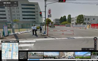 かまくら道道標:2015年5月のストリートビュー