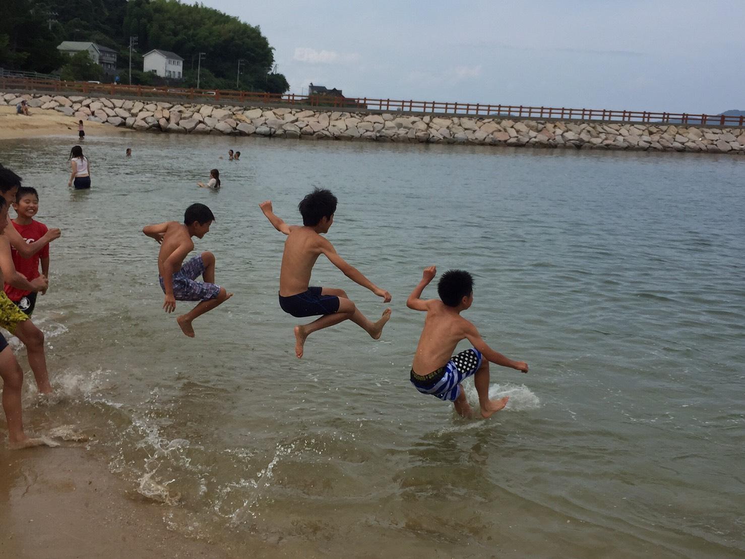20160710海水浴3
