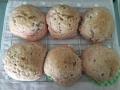 ココアのぐるぐるパンとメロンパン 手順11