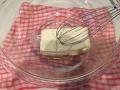 レアチーズケーキ手順4