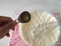 レアチーズケーキ手順7