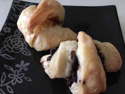 ミニクロワッサン チョコ・シナモンレーズン