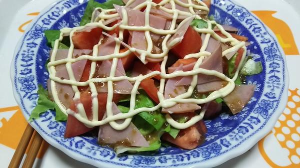 たべたい菜とトマト2つ (2)
