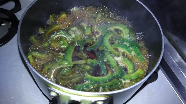ゴーヤの佃煮 (4)