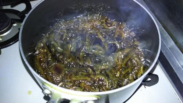 ゴーヤの佃煮 (5)