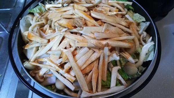 キムチ鍋 (2)